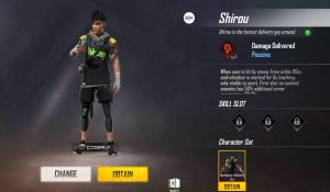 free fire character new