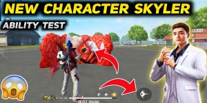 free fire character